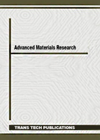 "Журнал ""Advanced Materials Research"""